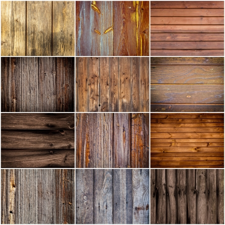 Collection of wood texture backgrounds Stok Fotoğraf - 21646599