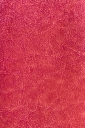 Red leather background or texture photo