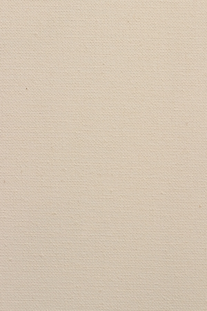 Background from white coarse canvas texture. Clean background. Stock Photo
