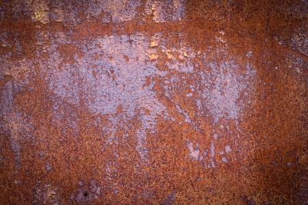 Rusty metal background texture iron old rust grunge steel metallic dirty brown wall Stock Photo