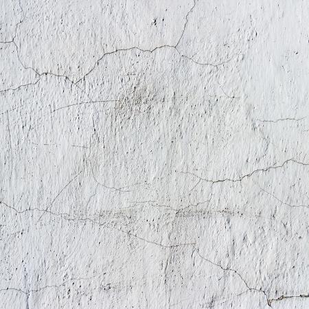Roestig gebarsten betonnen vintage muur achtergrond Stockfoto
