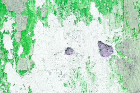 exposed concrete: Green exposed concrete wall texture Stock Photo