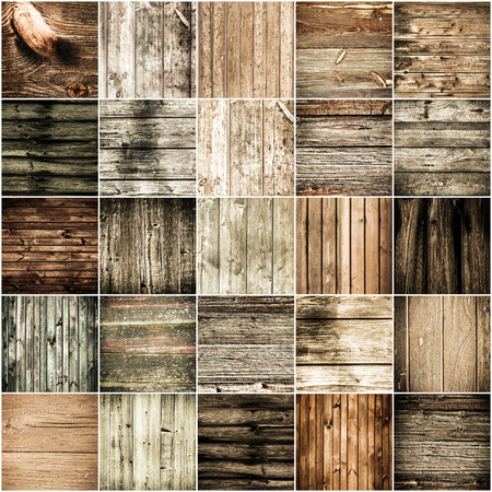 Collection of wood texture backgrounds Stok Fotoğraf - 28683817