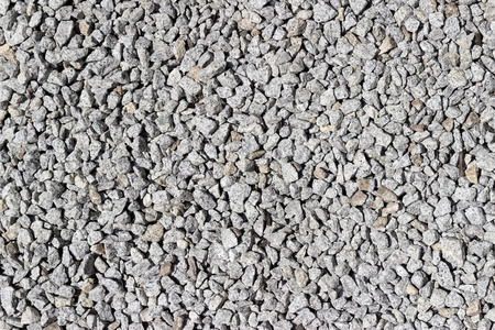 A pile of rock - construction material Stock Photo
