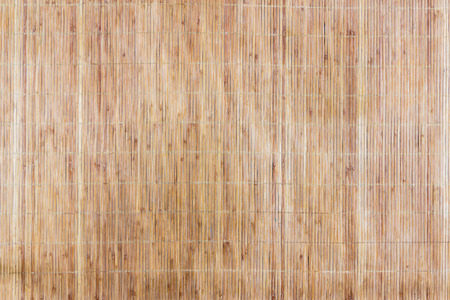 bonding rope: Background of bamboo mat texture