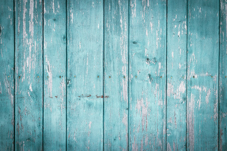 Staré malované dřevěná stěna - textura nebo pozadí