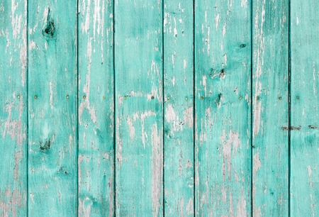 wooden panel: Old painted wood wall - texture or background
