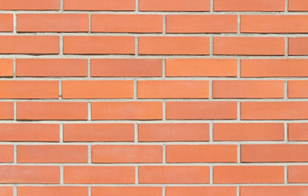 red brick: Background of red brick wall texture.
