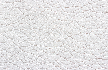 Synthetic white leather texture or background Stok Fotoğraf - 42082372