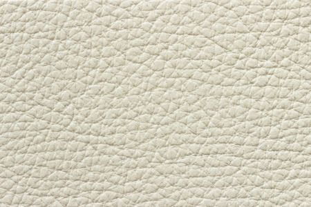 white leather texture: Synthetic white leather texture or background Stock Photo