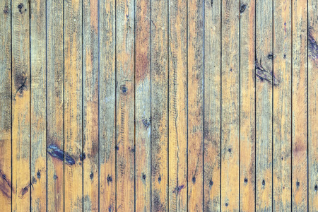 wood fences: Old painted wood wall - texture or background