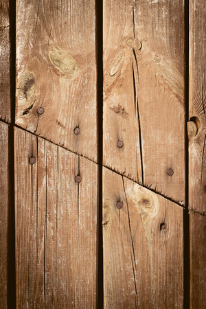 wood fences: The old wood texture with natural patterns Stock Photo