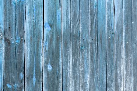 La vieille texture du bois bleu avec des motifs naturels