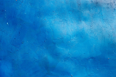 blue metal: Blue painted metal plate background texture.