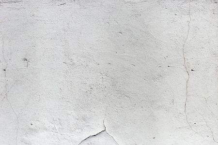 Stucco white wall background or texture Stock Photo