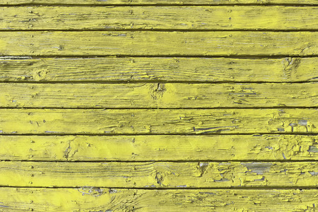 The old yellow wood texture with natural patterns