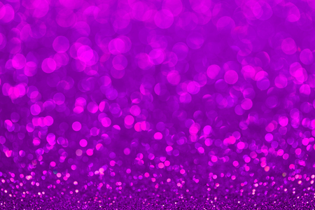 Abstract twinkled bright background with bokeh defocused lights. Stock Photo
