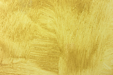 Yellow grunge concrete wall background or texture. Archivio Fotografico - 125290352