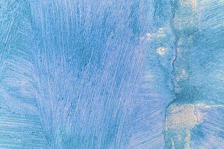 Blue grunge concrete wall background or texture.