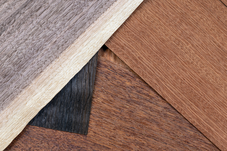 Wooden veneer to use as a background. Stok Fotoğraf - 124457798