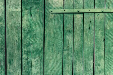 Old green boards for use as a background.