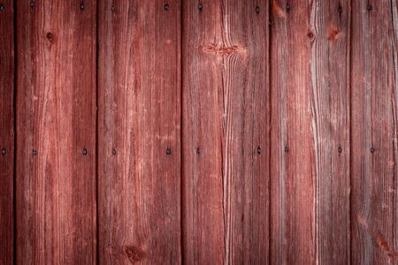 The old red wood texture with natural patterns. Stok Fotoğraf