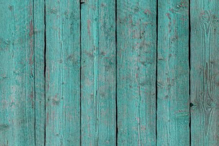 Old painted boards for use as a background. Banco de Imagens