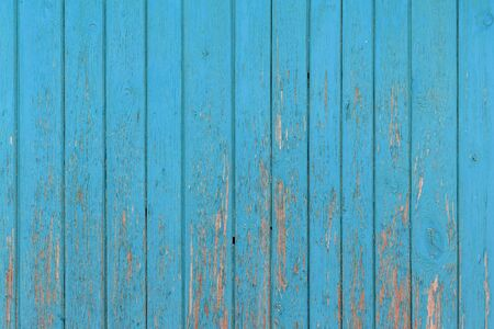The old blue wood texture with natural patterns. Stockfoto - 130068464