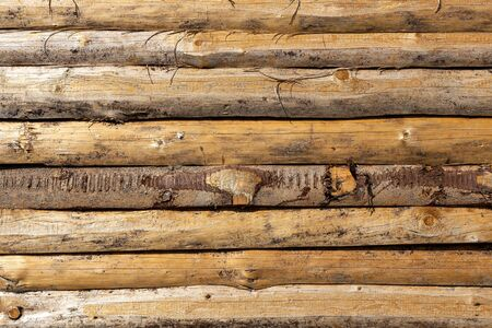 The old wood texture with natural patterns.
