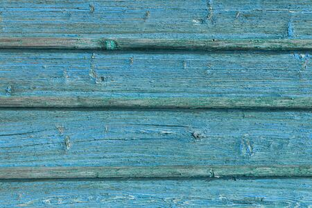 The old blue wood texture with natural patterns.