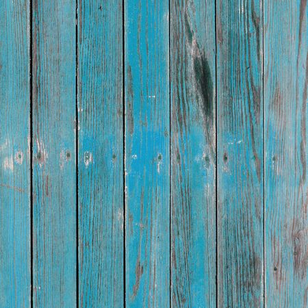 Old blue painted board with natural patterns.
