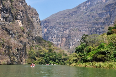 Canyon del Sumidero in Mexico - popular place for Boat Trips