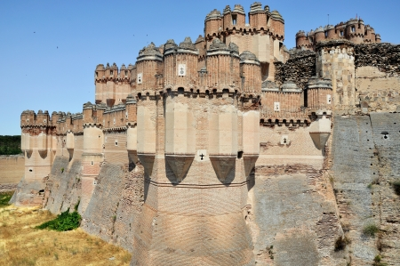 Castillo de Coca towers, Segovia, Spain