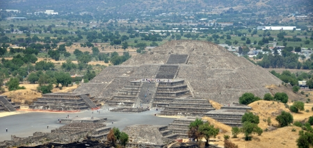 Pyramid of the Moon, Teotihuacan Pyramids, Mexico photo