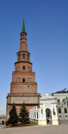 eclecticism: Soyembika Tower in Kazan Kremlin, Tatarstan, Russia