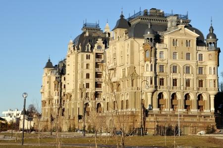 Palace of Farmers in Kazan - Gebäude des Ministeriums für Landwirtschaft und Ernährung, Republik Tatarstan, Russland Standard-Bild - 18966425