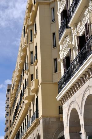 zaragoza: Modern building in Zaragoza, Spain Editorial