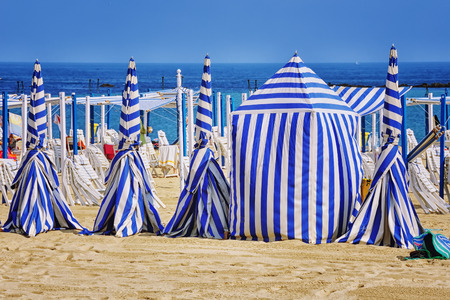 san sebastian: San Sebastian beach in Donostia. One of the best beaches in Basque Country and Spain Stock Photo