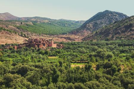 berber: Berber village Stock Photo