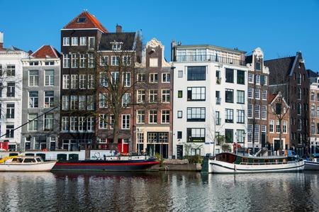 historical buildings: Amsterdam, Netherlands with historical buildings