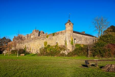 county tipperary: Popular landmark - Cahir Castle of Tipperary County - one of the largest castles in Ireland