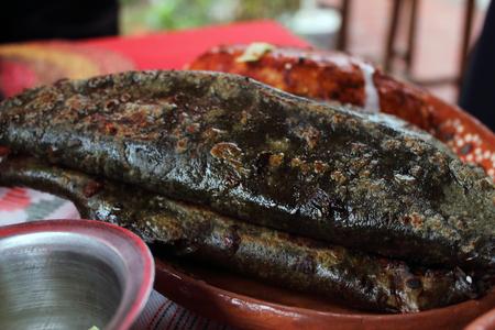 Quesadillas in Mexico Stock Photo