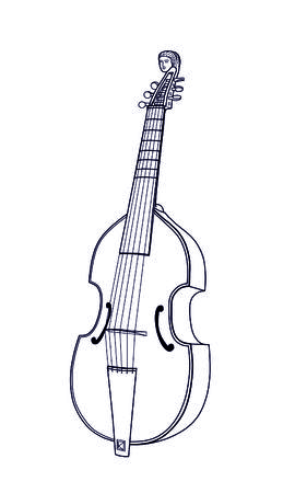 symphony orchestra: viola da gamba
