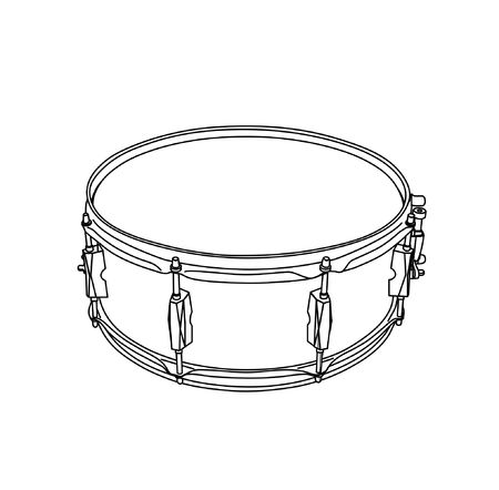 snare: snare Illustration