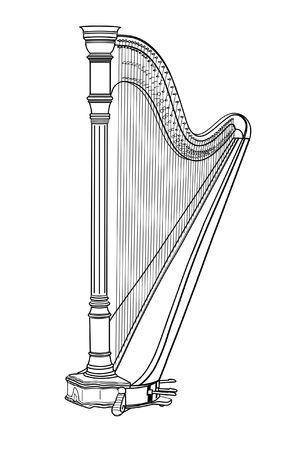 harp Ilustracja