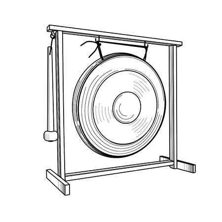 gong: gong Illustration