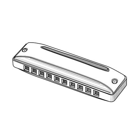 aerophone: harmonica