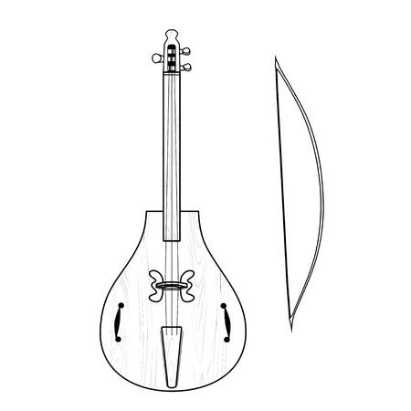 stringed: gudok