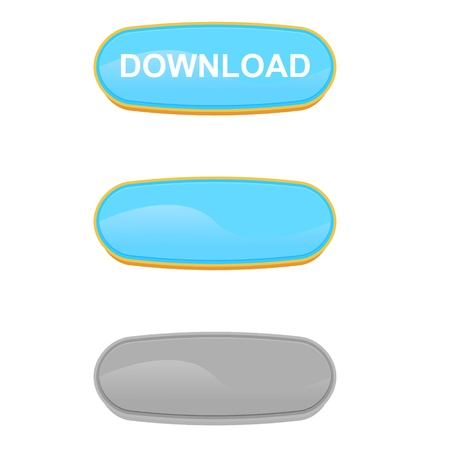 download button Stock Vector - 17285368