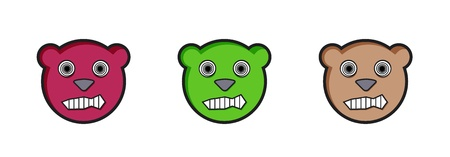angry teddy: angry teddy bears